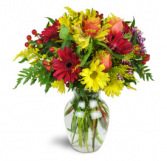 shower your love  vase arrangement