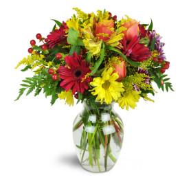 shower your love  vase arrangement