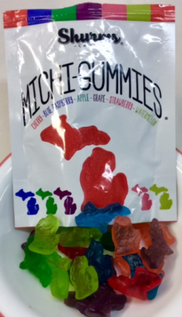Shurms Candies Michi-Gummies Locally Made!