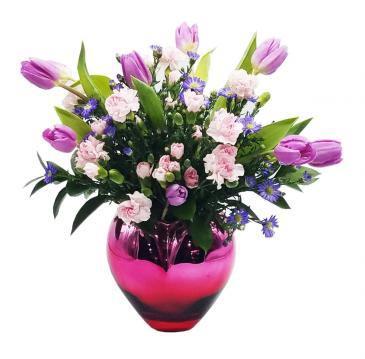 Siempre Juntos Arreglo de Flores para Aniversario