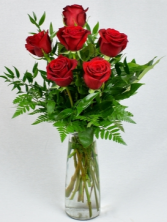 Signature Half Dozen Red Roses