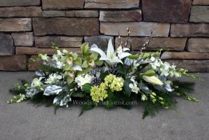 Silent Night Christmas Centerpiece in Woodinville, WA | Woodinville Florist®