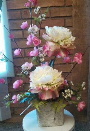 Silk Accent Table Arrangement Silk Flowers In Gladwin Mi Lyles