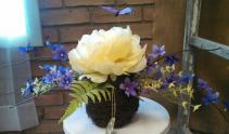 Silk Accent Table Arrangement Silk Flowers