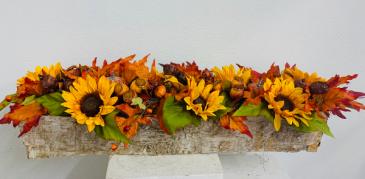 (SILK) An Autumn Morning Silk Arrangement