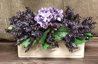 Cemetery arrangement Headstone flowers