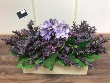 Pretty in purple Artifical arrangement Silk