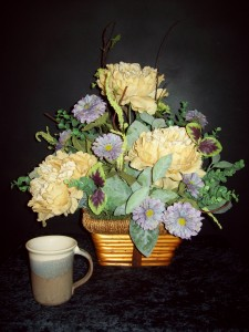 Silk basket arrangement silk flower arrangement in dallas or silk basket arrangement silk flower arrangement mightylinksfo