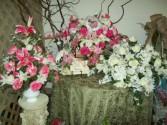 silk casket sprays sympathy