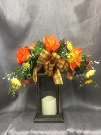 Silk Fall Lantern In Clarksville Tn Flowers By Tara And Jewelry World