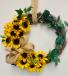 Silk Flower Wreath Gift Item