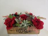 (SILK) Home at Last Silk flower arrangement
