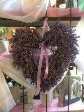 Silk Lavender Wreath Giftware