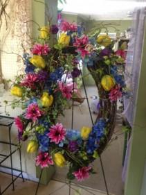 Silk Oval Wreath Gift Items