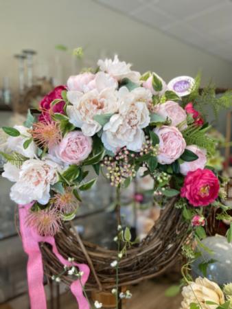 Silk Pink Wreath