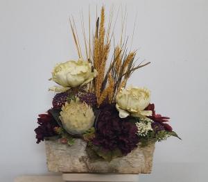(SILK) rustic garden Silk flower arrangement  in Elko, NV | LeeAnne's Floral Designs