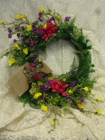 Silk  Wreaths ALL