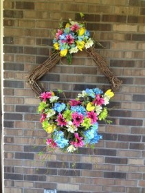 Silk Square Wreath Gift Items