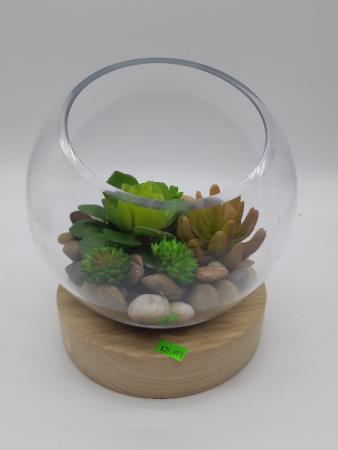 Silk Succulent Bowl Best Seller
