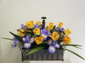 (SILK) Summer Showers Silk flower arrangement