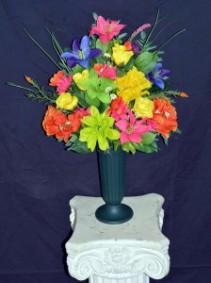 Silk Sympathy Urns Funeral Flowers