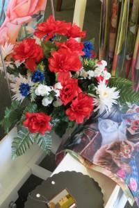 Silk Sympathy Vase  Sympathy Flowers