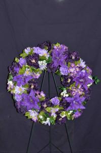 Silk Sympathy Wreaths Funeral Flowers