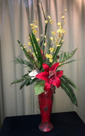 Silk Vase Silk Arrangements