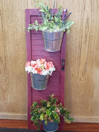 (SILK) window to my soul Silk flower arrangement