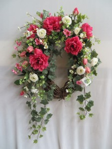 Silk Wreath 4 Artificial Wreath in Farmville, VA | CARTERS FLOWER SHOP