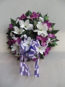 Silk Wreath Artificial Wreath
