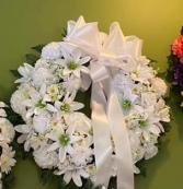 SILK WREATH Funeral Flowers