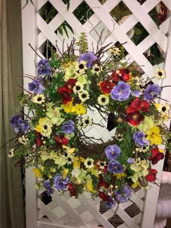 Silk Wreath Silk Arrangements