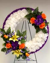 Silk Wreath - Small Silk Arrangement