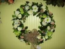 silk wreaths sympathy