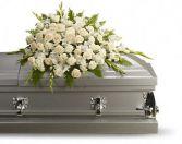 Silken Serenity Casket Spray Funeral