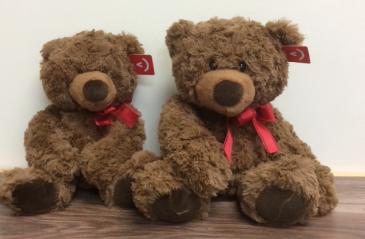 Silky soft brown bears Plush