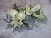 Silver and Bling Corsage