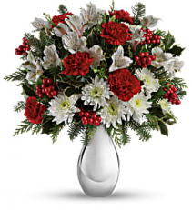 Silver And Red Romance Valentines