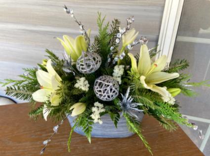 Silver Bells Bouquet