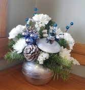 Silver Bells Floral Arrangement