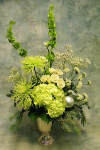 Silver Bells  Fresh flower arrangement