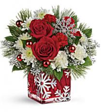 Silver Christmas Arrangement