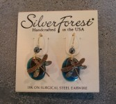 Silver Forest Earrings Gift