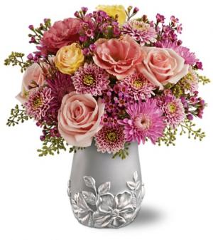 Silver Garden *Limited Edition Vase* in Winnipeg, MB | KINGS FLORIST LTD