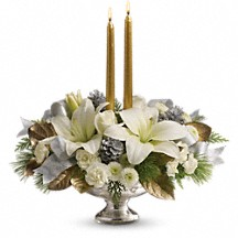 Silver & Gold Winter Bouquet