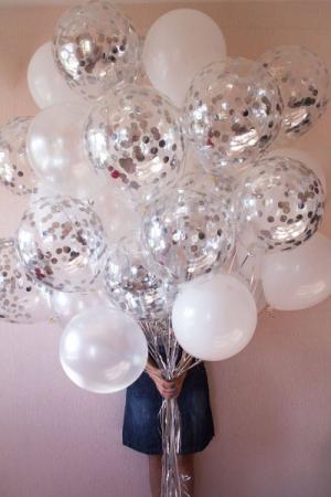 Silver Grace Balloons