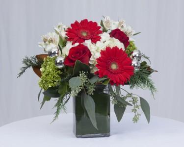 Santa's Helper Vase Arrangement