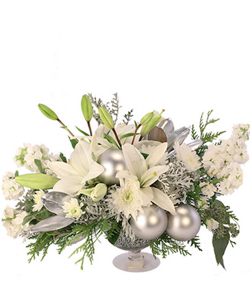 Silver Luster Flower Arrangement