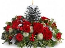 Silver Pinecone  Bouquet